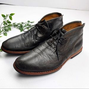 Timberland Boot Chukka Leather Lace Up Boots brown